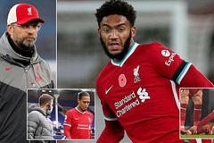 Liverpool tá hỏa thêm ca chấn thương 'nặng như Van Dijk'