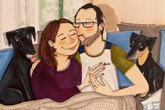 Bộ ảnh ngọt ngào mang thông điệp: 'Hãy cứ yêu đi'
