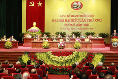 Hanoi issues action plan to realize resolution of municipal Party Congress
