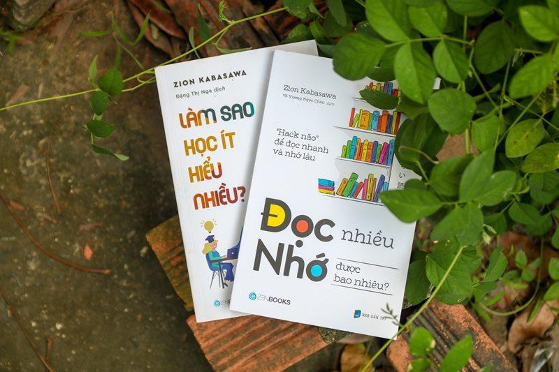 Hai cuốn sách giúp nhớ lâu, nắm kiến thức hiệu quả từ đọc sách