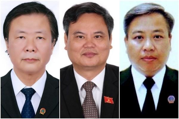 Quốc hội phê chuẩn bổ nhiệm 3 Thẩm phán TAND tối cao