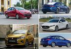Top 5 sedan bán chạy nhất tháng: Mitsubishi Attrage xuất hiện