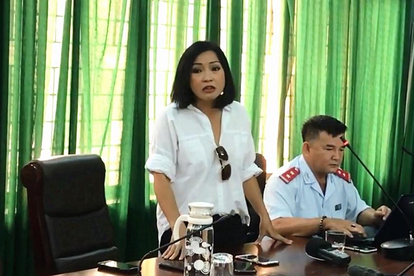 Phương Thanh làm việc với Sở TT-TT Quảng Ngãi sau phát ngôn gây tranh cãi