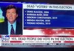 """Nhà báo tung bằng chứng tố """"người chết"""" đi bầu Tổng thống Mỹ"""