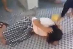 Nữ sinh ở Tây Ninh bị bạn đánh hội đồng trong nhà vệ sinh trường học