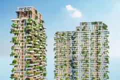 Tòa tháp xanh Solforest của Ecopark lên tạp chí Mỹ