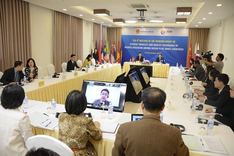 Thúc đẩy dịch chuyển sinh viên trong các nước ASEAN+3