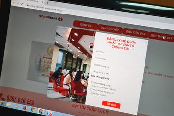 Nam thanh niên bị phạt 7,5 triệu vì lập website giả mạo ngân hàng