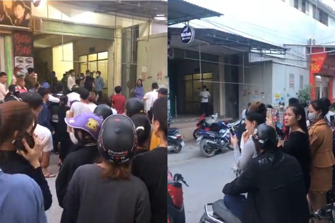 Tá hỏa phát hiện thi thể bốc mùi trong chợ ở Nghệ An
