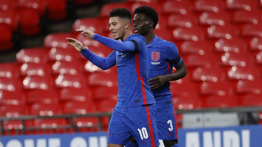 Maguire, Sancho ghi bàn giúp tuyển Anh thắng '3 sao'
