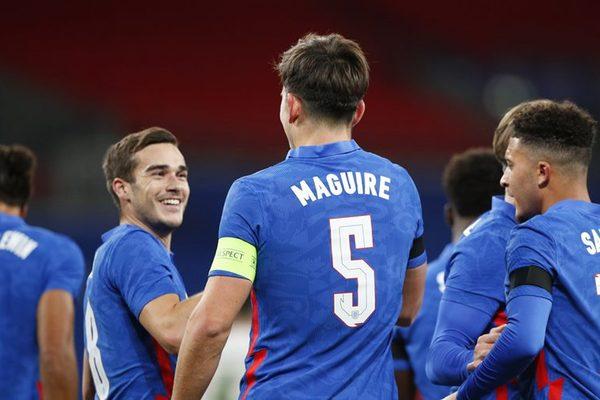 "Maguire, Sancho ghi bàn giúp tuyển Anh thắng ""3 sao"""