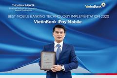 VietinBank iPay Mobile đạt giải Ứng dụng công nghệ ngân hàng trên điện thoại tốt nhất
