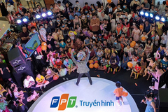 Trẻ vui hết mình với sân khấu Masha and The Bear củaTruyền hình FPT