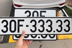 Đề xuất đấu giá biển số xe qua các công ty độc lập