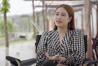 Hoàng Thuỳ Linh nói về vai nữ tiếp viên mát xa