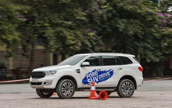 Cơ hội lái thử xe Ford SUV Drive 2020
