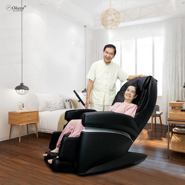 6 lợi ích hàng đầu của ghế massage toàn thân