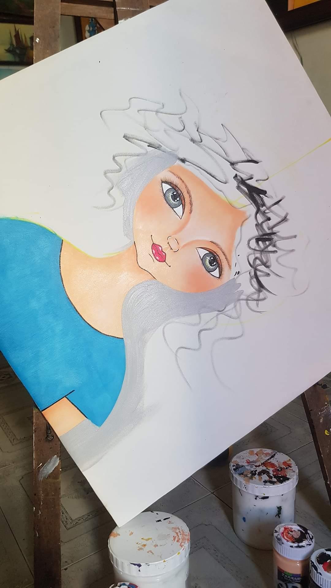 Bà mẹ làm tranh đẹp mê ly từ phế liệu bỏ đi
