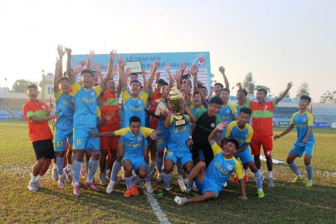 CLB Hải Nam Vĩnh Phúc giành vé thăng hạng Nhì quốc gia