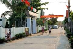 Huyện Ân Thi về đích nông thôn mới