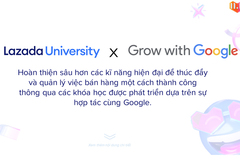 Google cùng Lazada mang khóa học trực tuyến đến các nhà bán hàng