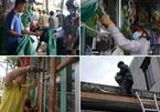 Bão 13 tăng cấp, người Đà Nẵng đổ xô đi mua đồ chằng chống nhà cửa