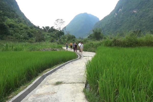 Diện mạo nông thôn mới xã Nà Mạ ngày càng khang trang