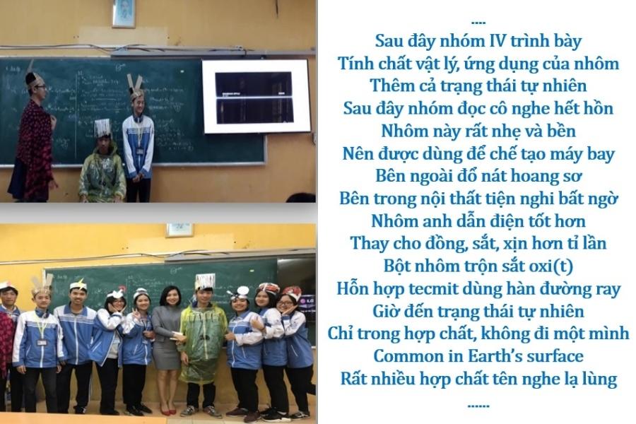 Cô giáo dạy Hóa với những 'chiêu thức' làm rung động trái tim học trò