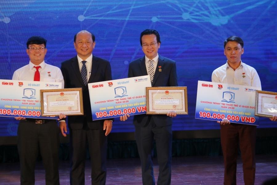 3 sáng kiến đạt giải 'Tri thức trẻ vì giáo dục' năm 2020