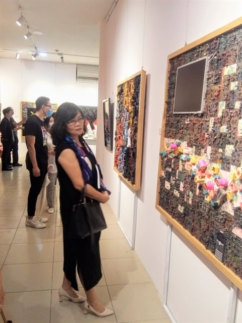 Nguyen Son,painting,exhibition,entertainment news