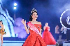 Trần Thị Mai sở hữu vương miện tiền tỷ khi đoạt Hoa khôi Hạ Long 2020