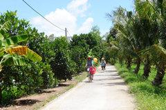Cẩm Sơn: đường làng ngõ xóm được đầu tư xây dựng đạt chuẩn, sạch đẹp