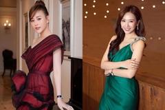 Sao đẹp tuần qua: Phương Oanh, Hari Won vai thon với đầm lệch