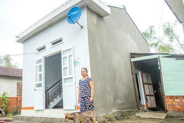 Storm-proof home initiative transforming living conditions