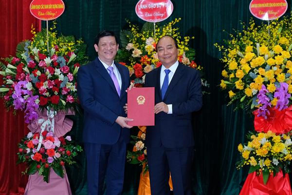 Thủ tướng giao 10 nhiệm vụ cho tân Bộ trưởng Y tế