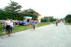 Nhiều vùng nông thôn ở Quảng Ngãi đã đổi thay, ngày càng khang trang, sạch đẹp