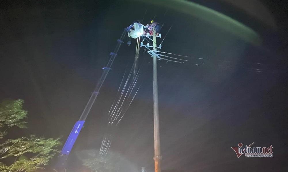 Hơn 24 ngàn hộ dân ở Quảng Bình vẫn đang chịu cảnh mất điện
