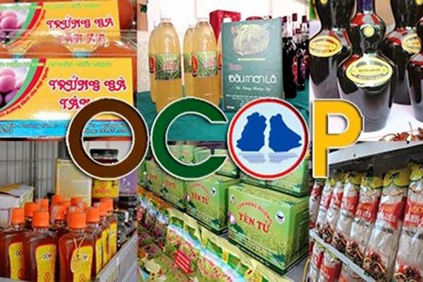 Đề xuất xã đạt chuẩn nông thôn mới nâng cao phải có sản phẩm OCOP