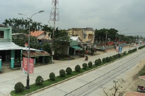 Xã Điện Trung ngày càng đẹp nhờ phong trào xây dựng khu dân cư kiểu mẫu