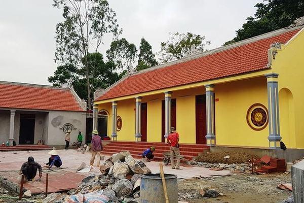 Xử lý nghiêm việc xây dựng chùa ở Thanh Hóa chưa được cấp phép