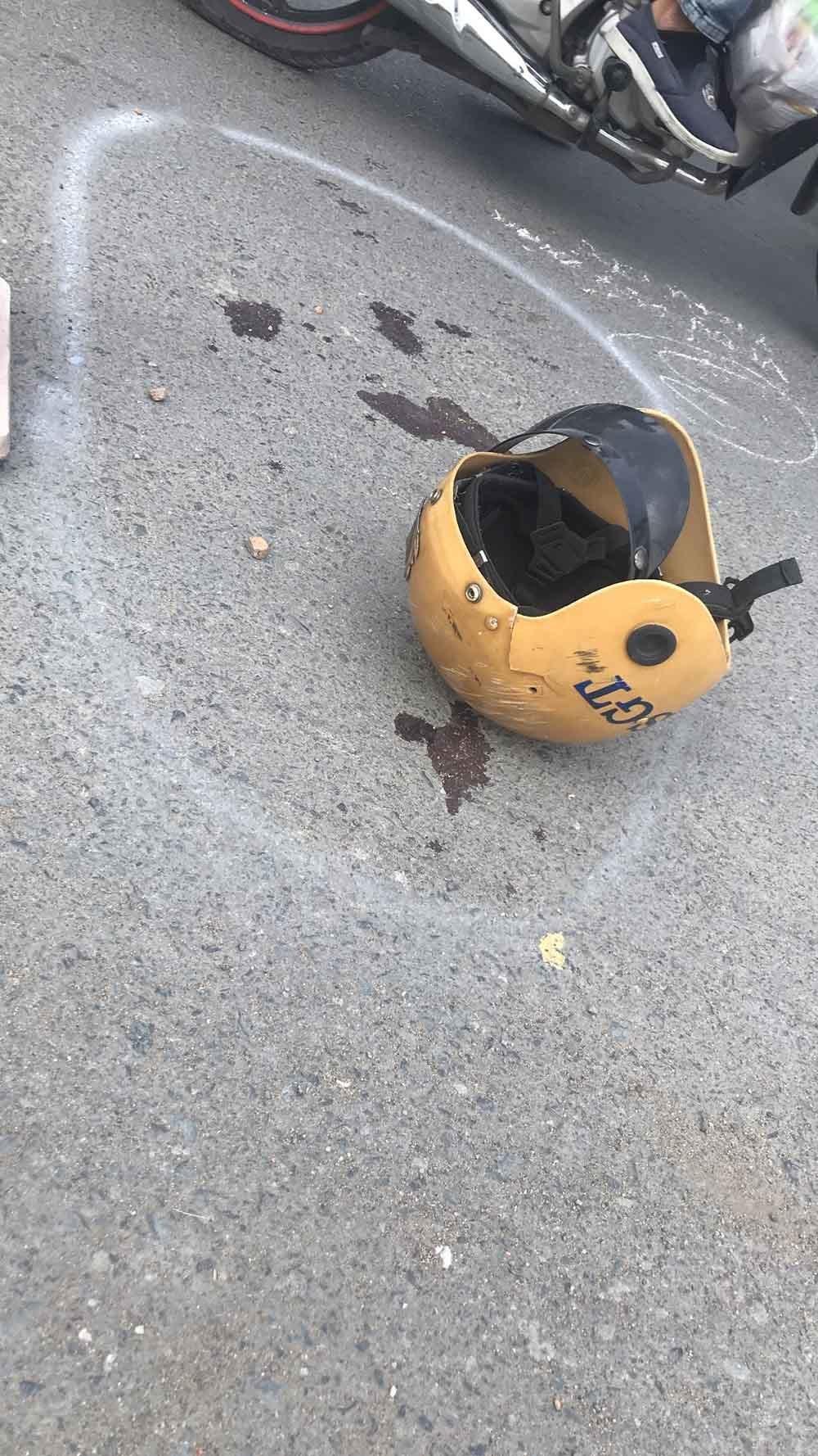 Bắt hai kẻ đâm xe trực diện khiến Trung tá CSGT gãy tay, chân
