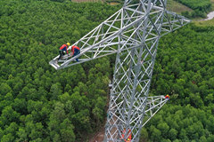 Major power line suffersmultiple setbacks