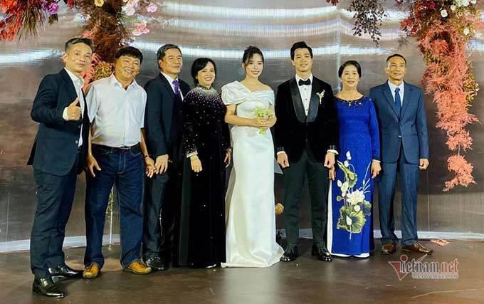Bất ngờ thực đơn lễ cưới Công Phượng - Viên Minh