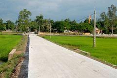 Nghệ An: Lan toả phong trào thi đua xây dựng NTM ở các làng quê