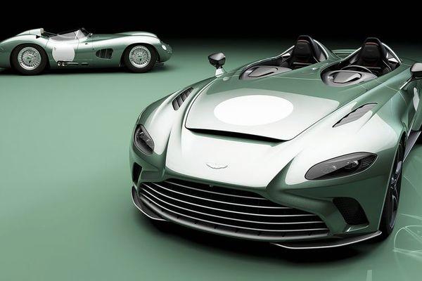 Siêu xe Aston Martin V12 Speedster phiên bản giới hạn lộ thông số kỹ thuật