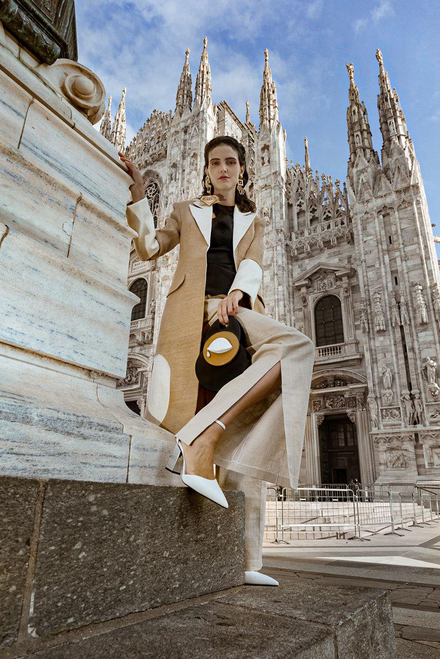 NTK Phan Đăng Hoàng mang chất liệu Việt đến với kinh đô thời trang Ý