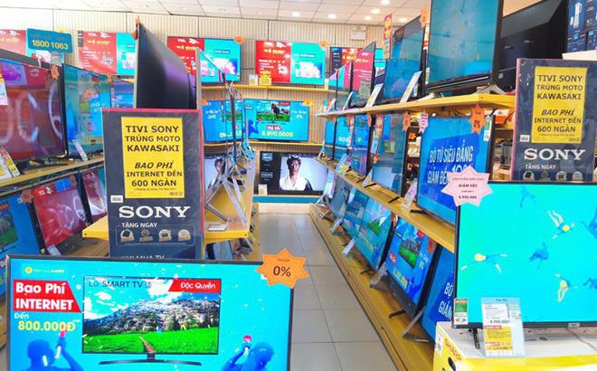 Hàng loạt smart TV 75 - 86 inch lại có 'bão' giảm giá tới 53%