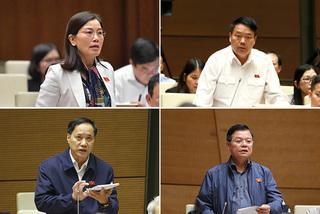 Các đại biểu tranh luận về nhập ba lực lượng an ninh cơ sở làm một