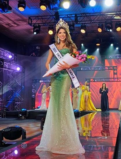 Cô gái câm đạt Á hậu 1 Hoa hậu Hoàn vũ Colombia 2020