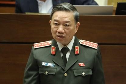 Bộ trưởng Tô Lâm: Xây dựng luật mới, Công an không trốn tránh trách nhiệm